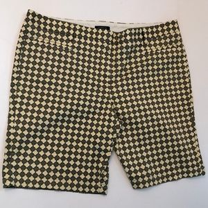Land's End Geometric Print Bermuda Walking Shorts